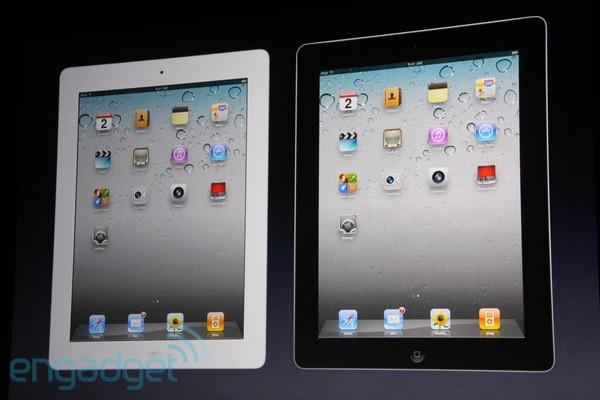 iPad wit zwart